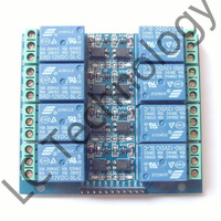 8 road 12 v 10 A optical coupling isolation relay module