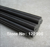 High strength 6.5mm(dia)*1000mm carbon fiber solid rod for RC hobby