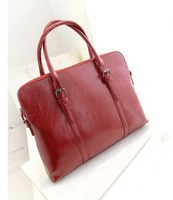 2013 Fashion vintage shoulder bags briefcase  women leather handbags free-shipping