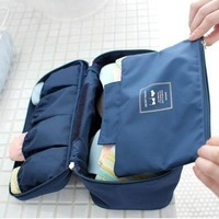 Fashion travel waterproof underwear pouch sorting bags multifunctional bra waterproof panties storage bag