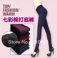 Free shipping Show Thin Winter  Leggings  For Women  Sexy Cotton Legging Keep Warm Wholesale Price K643