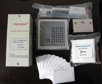 Glass door access set id card access control machine electric lock doors power supply