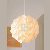 Meiqi lighting wave ball pendant light modern brief style restaurant lights child real luminaire hot-selling