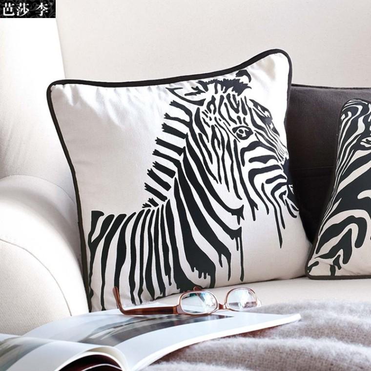 Online kopen Wholesale Zebra kussen uit China Zebra kussen Groothandel ...