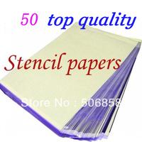 50 Sheets A4 Tattoo Transfer Stencil Paper Top Quality T801