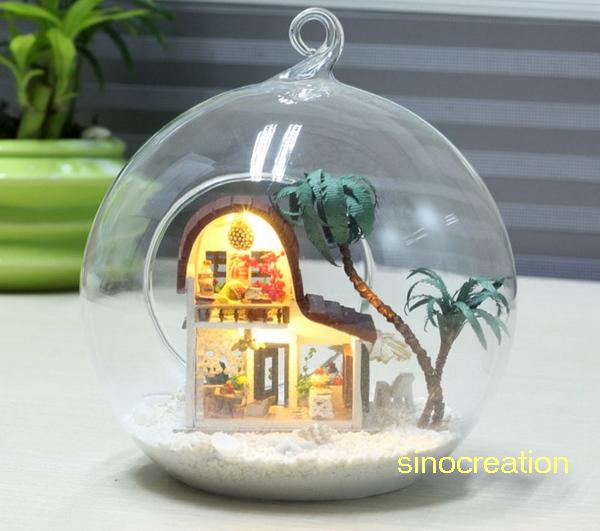 Diy mini glass house