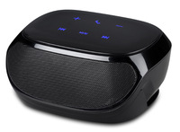 Wireless Strong Bass Portable Stereo Bluetooth Mini car Speaker with Microphone Touch Key MP3 Music Box FM Radio