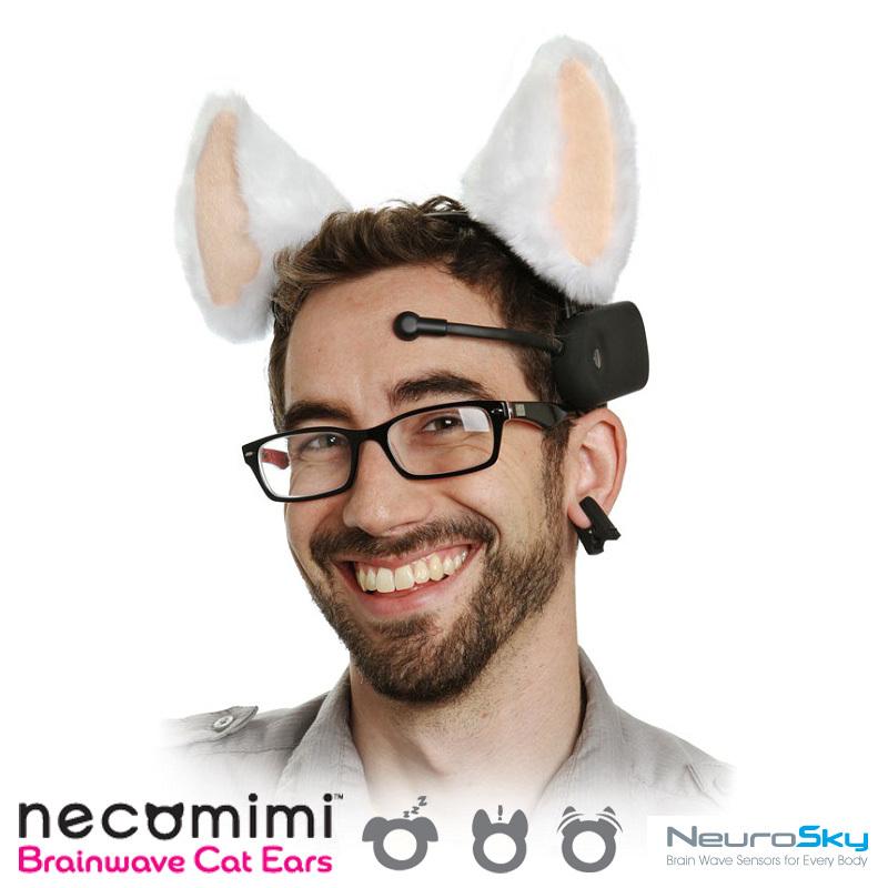 New 2013 Hot wholesale 5pcs/lot freeshipping Cat necomimi cat ears brain waves control cat ears neurowear,valentine's day gift(China (Mainland))