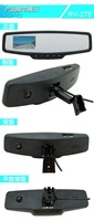 2.7 inch screen dual camera 720P/480P Car DVR Rear View Mirror Monitor HD mirror car dvrblack box