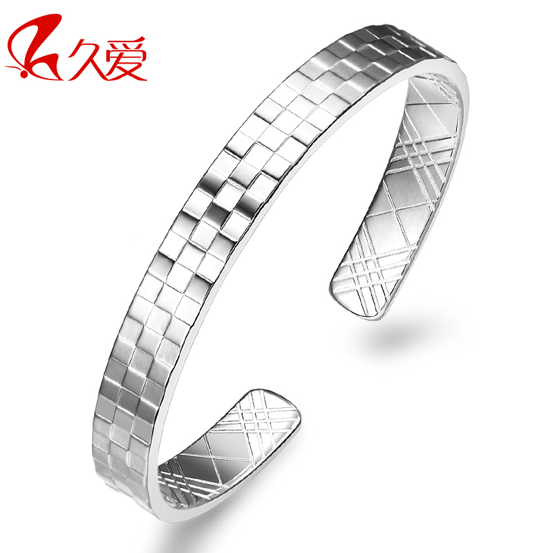 999 pure silver bangles female magic cube valentine s day gift lover all-match fashion free shipping(China (Mainland))