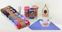 Yogitoes skidless thickening eco silicone nubs yoga towel, yoga blanket&Sport mat, free shipping