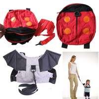 Baby Kids Toddler Cute school Ladybug Bat Safety Walking Wings Harnesses Backpack Strap Bag