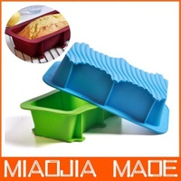 free shipping 2 pcs / lot  Silicone cake pan baking mold silicone mold silicone strip large kitchen utensils DIY mold bread mold