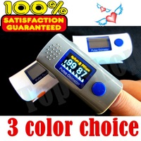Free shipping Health care CE FDA OLED Display Fingertip Pulse Oximeter Bood Oxygen SPO2 PR oximetro monitor