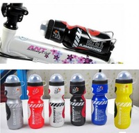 2014 New Outdoor Cycling Bike Bicycle PE 750ml Sports Water Bottle With Dust Cover