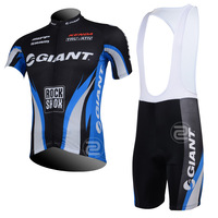 FREE SHIPPING/2013 GIANT (2) Short Sleeve Cycling Jersey and BIB Short/Bicycle/Riding/Cycling Wear/Clothing(accept customized)