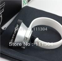 Universal Circle Clip 180 Degree Conversion Fisheye Fish Eye Lens for iphone 5c  HTC Samsung Note 2