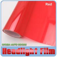Wholesale 8 Rolls Per Lot 30cm*10m/roll Auto Car Sticker Smoke Fog Light Red HeadLight Taillight Tint Vinyl Film sticker