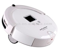 Vacuum Cleaner With LCD Touch Screen, Virtual Wall, UV Lamp Sterilizer, Remote Control