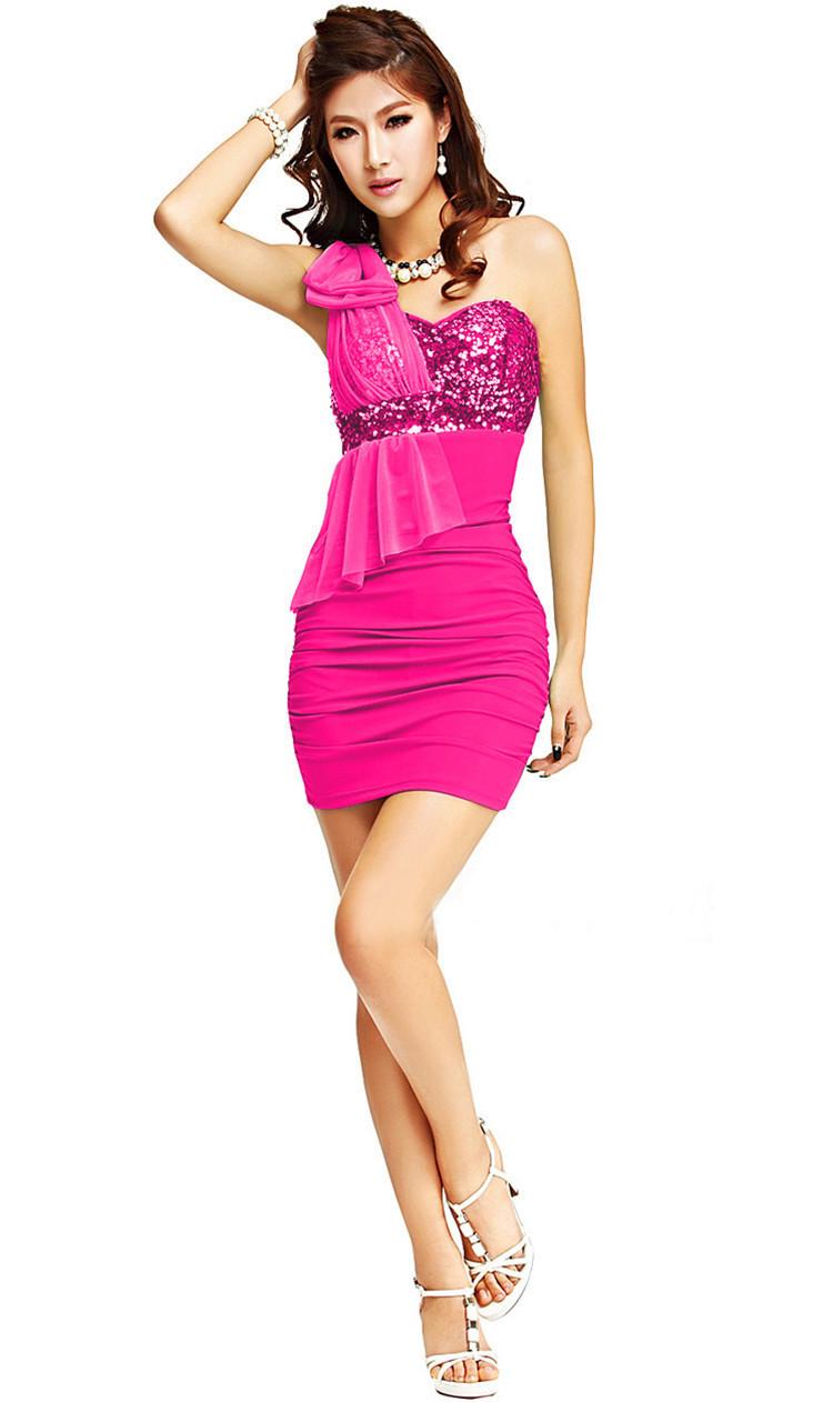2014 New Arrival Sequin Dresses For Women Hot-selling Women's Novelty