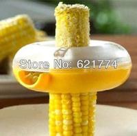 5PCS New Hot Selling Portable Fresh Corn Stripper Sweet Corn Threshing Device Kitchen Tools Wholesale Free Shipping
