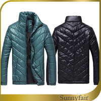 Free Shipping 2013 New Men'S Winter Warm Thermal Wadded Jacket Cotton-Padded Coat Winter Slim