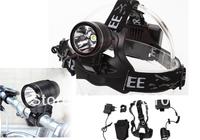 New CREE XML T6 1800 LM LED HeadLamp Cycling Bike Bicycle Head Light HeadLight + bike mount + Charger