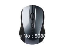 Freeshipping 2013 Portable Optical Wireless Mouse USB Receiver RF 2.4G For Desktop & Laptop PC Computer+Dropshipping