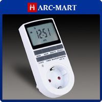 EU Plug Programmable Energy Saving Display Digital Timer Socket Time Switch Random Function#HK548