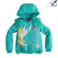 Free Shipping Children kids Girl's blue snow princess hooded  jacket