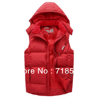 2013 sports casual fashion stand collar hooded rlx vest male sports winter vest men's rl jacket clothing ralphly