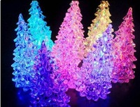 Clearance ! big sales promotions ! Holiday Festival Best Gift RGB Colorful LED Christmas Tree NightLight lamp light
