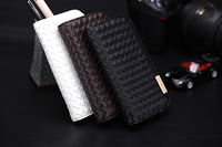 Genuine Leather Protective Wallet Cover Skin Case for Samsung Galaxy S4 i9500