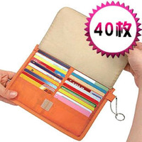 Multifunctional 3120 40 card case card holder card storage bag storage  (The minimum order amount $10)