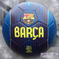 Size5 standard Barca Football/soccer environmental protection for youth/Children/sport as Festival/Birthday Gift Free shipping