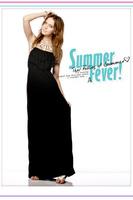 HOT! summer Korean fashion casual Slim thin cotton halter dress flounced beach dress,free shipping