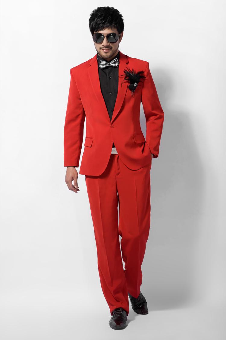 Menu0026#39;s red formal dress menu0026#39;s red formal dress multicolour menu0026#39;s clothing male red suit-inSuits ...