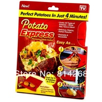 Potato Express Microwave Potato Cooker Free Shipping