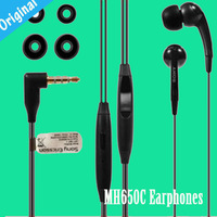 Original MH650C Earphones headphones headsets for sony xperia s lt26i lt26 lt22 l36h free shipping