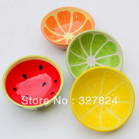 Hearts glaze fruit ceramic rice bowl soup bowl at home japanese style children's tableware rice soup fruit salad bowls