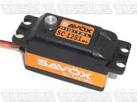 Savox 1251mg digital metal short steering gear 0.09s 9kg belt
