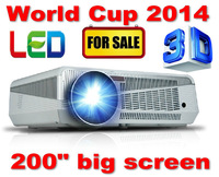 Top quality built-in android 4.0 wifi HD 1080p projector, max 3200lumens overhead projector tv