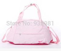 Free shipping 2013 designer Black/White leather gym bag sport bag travel handbags,gym totes carry on luggage brand items