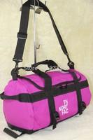 Free shipping Black/White 2013 brand designer leather gym bag women,sport bag leisure handbags gym duffle bags brand items GB36