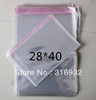 E4 Clear Resealable Cellophane/BOPP/Poly Bags 28*40CM  Transparent Opp Bag Packing Plastic Bags Self Adhesive Seal