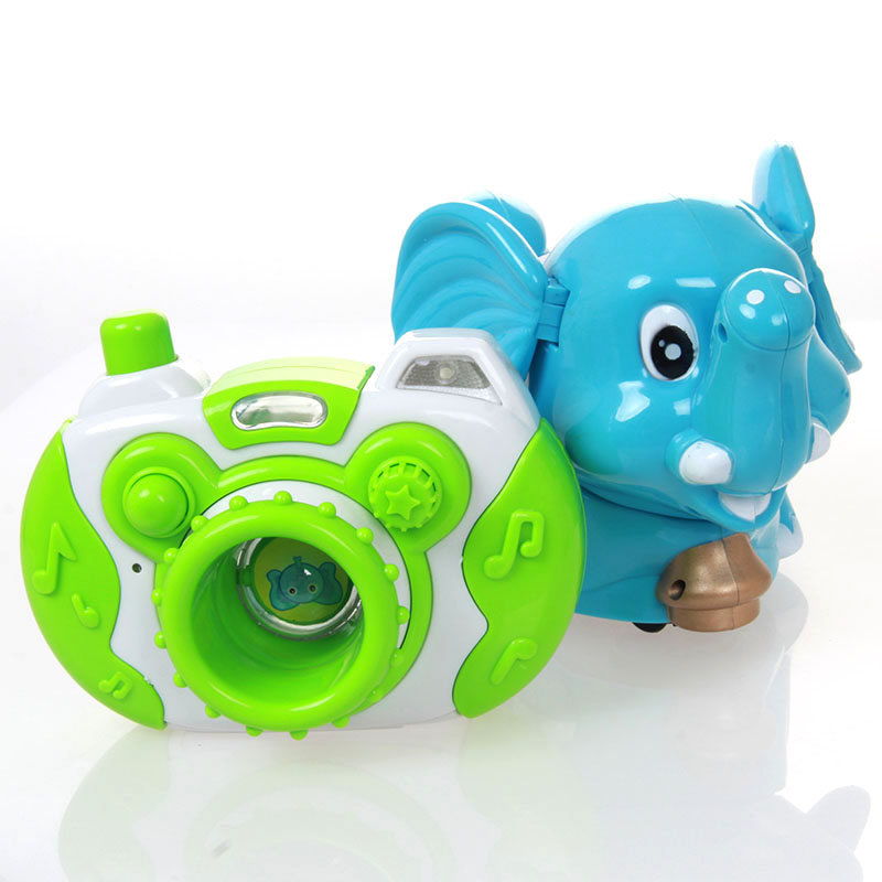 New 2014 Electric cartoon toy animal musical animal model camera ofdynamism series(China (Mainland))