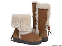 Australia Brand  5359 Night  Fall sheepskin fur wool women snow boots