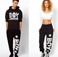 WOMEN MEN HIP HOP STYLE SPORTS PANTS BOY LONDON PRINT free dropshipping worldwide wholesale price high quality