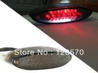 Free ShippingSmoke LED Tail Brake Light For Suzuki ATV LTZ King Quad Runner DR DRZ 200 250 350  650 400 SE SM SL K1 K2 LT