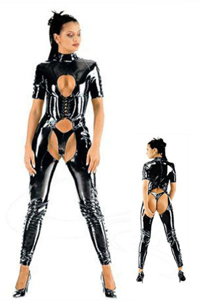 Free Shipping Catwoman Feline Catsuit Teddy Ladies Pole Dancing Clothes Women Sexy Lingerie Open Underwear Club Costume LB1005(China (Mainland))